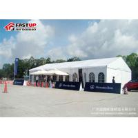 Quality Durable Large Outdoor Exhibition Tents Waterproofing Wind Resistant for sale