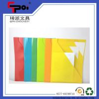 Quality PP Stationery Supplier A4 Loose Paper Customized Translucent L shaped File Folder for sale