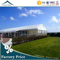 Buy Universal Glass Wall Tent  Clear Span Tents  for Events with Furniture/Floor/Lining at wholesale prices