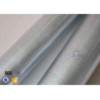 Quality Reflective Aluminium Foil Silver Coated High Silica Glass Fiber 700gsm 0.8mm for sale