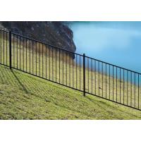 Buy cheap Black steel tube fence in high security from wholesalers