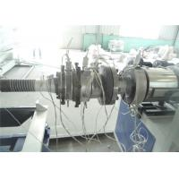 Buy cheap Single Screw PP RPE PE Pipe Extruder With Omron Temperature Contrller from wholesalers