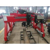 China Box Beam Or H Beam Horizontal Submerged Arc Welding Machine With Lincoln Welder on sale