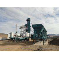 Quality Towing Tractor Drive Mobile Asphalt Batch Mixing Plant With Wearable Blade for sale