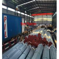 Quality ASTM A53 API 5L  UOE Steel Pipe , Black ERW Carbon Steel Pipe for sale