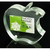 Quality Apple Shape Clear Acrylic Crafts With Reasonable Price for sale
