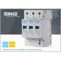 Quality IEC Standards Lightning surge protector SPD , transient voltage surge suppressor TVSS for sale
