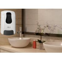 Lockable Refillable Bathroom Hand Soap Dispenser With Smoky Window