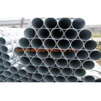 Quality ASTM A53 ERW Galvanised Steel Pipe For Water , Gas Transportation for sale