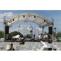 Buy Outside Large And Small Series Aluminum Lighting Truss With Arch Roof Top at wholesale prices