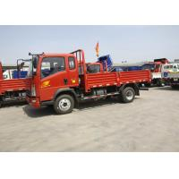 Quality 154 HP Engine Light Duty Trucks Two Axles 7995 × 2498 × 2850mm Size for sale