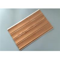 Quality Customized Decorative PVC Panels With Four Grooves Fire Proof 8 Mm Thickness for sale