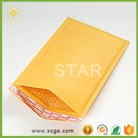 China Custom printing high quality kraft paper mailing air bubble padded envelope jiffy bag on sale