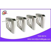 China Attraction access control tripod turnstile gate , bar code scanner tripod gate on sale