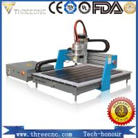Quality 1.5kw water cooling spindle advertising cnc router TMG6090-THREECNC for sale