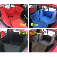 Quality Car Auto Pet Dog Cat Safety Waterproof Hammock Back Seat Cover Carrier Protector Blanket Cushion Pad Belt Bed for sale