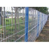 Quality Anti Climb Garden Mesh Fencing Green Wire Panel For Public Grounds for sale