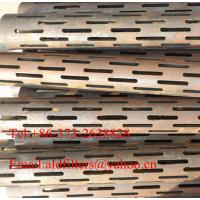 Quality carbon steel Slotted Pipes for sale