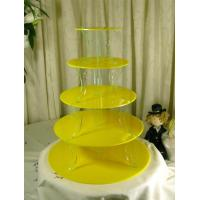 Quality Elegant 3 Tier Acrylic Cupcake Display For Wedding Or Party for sale