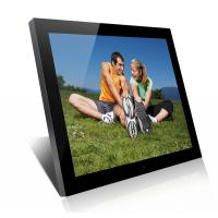 Acrylic 19 Inch High Resolution Digital Picture Frame With Clock And Calendar