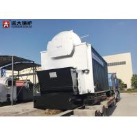 Quality 10 Ton Bagasse Fired Steam Boiler , Large Stove Biomass Boiler For Paper Mill for sale