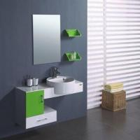 Quality PVC Bathroom Cabinet with 44 x 18.5cm Basin Size for sale