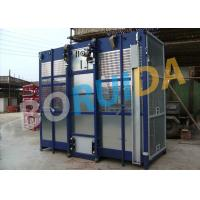 Quality 2000kgs Operator Cab Construction Material Hoist Dual Cage SC2000 / 200 for sale