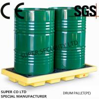 Buy Polyethylene Drum Containment Pallets For Chemical , Acids Amd Corrosives Liquid at wholesale prices