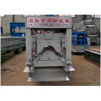 China Automatic Ridge Cap Roll Forming Machine , Steel Stud Roll Forming Machine  on sale