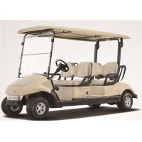 Quality Electric Car 4 Seater Golf Carts With 3 KW KDS Motor For Amusement Park for sale