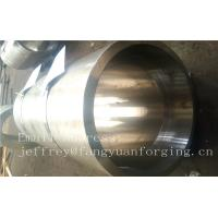 Quality S S Forged Steel Products / Forged Ring Flange Cylinder With Machining for sale