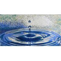 Quality Waterdrop Ruffle Marble Mosaic Outdoor Wall Art Handmade Craft Mirror Patterned Mosaic Tiles for sale