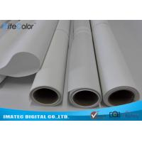 Quality One Side Matte Polyester Canvas Rolls 220gsm Extra Long Inkjet Canvas Rolls for sale