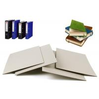 Quality Solid 1100gsm Book Binding board , Mixed Pulp Hard Paper Grey Board Sheets for sale