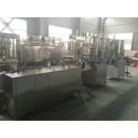 Quality PLC Control PET Can Industrial Linear Linear Filling Machine 1000-2000 Cans / hour for sale