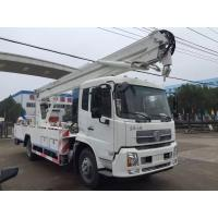 Quality Man Lift Hydraulic Aerial Work Platform Truck With  360° 5.7m Max Operation Radius for sale