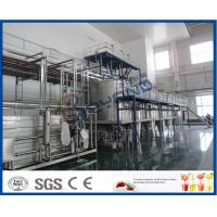 China PLC Control Beverage Production Line For Tea beverage Manufacturing Industry on sale