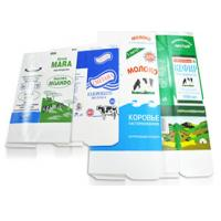 Quality Hot Filling Microwave Gable Top Carton Aseptic Packaging Material For Milk Juice for sale