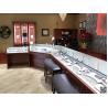 Buy cheap Wonderful jewellery shop interior design jewelry display showcase MDF jewelry from wholesalers