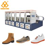 Quality Single / Double Color Rubber Sole Making Machine for Men Leisure Shoes Sandals for sale