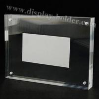 Quality Transparent Acrylic Frame Magnet for sale