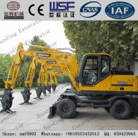 China New yellow 0.3me bucket wheel excavator with sugarcane grab for sale on sale