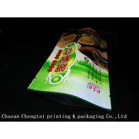 Quality High Barrier Stand Up Tea Packaging Pouches With Metallic Eco Friendly Material for sale