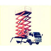 China Movable Electric Vehicle Mounted Scissor Lift Extension Platform for Work Shop on sale