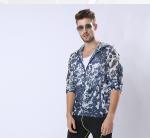 Custom New Version Man Sunproof Chinlon Skin Clothes