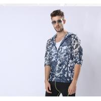Buy Custom New Version Man Sunproof Chinlon Skin Clothes at wholesale prices