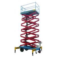 Quality Electric / Hyraulic 7.5M Self Propelled Scissor Lift 1.8 * 1m Platform For Workshops for sale