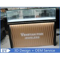 Buy Custom Modern Design Glass Jewellery Shop Display Counters at wholesale prices