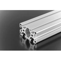 Quality Industrial Aluminium Alloy Profile , Silver Aluminium Window Frame Profiles for sale
