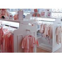 Buy Beautiful Neat Baby Clothing Store Display Fixtures With Eco - Friendly Material at wholesale prices